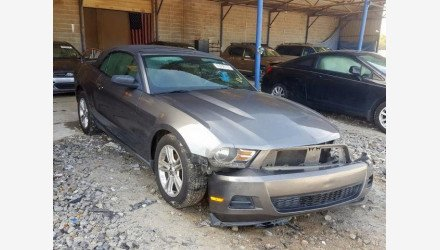 2010 Ford Mustang Convertible for sale 101292437