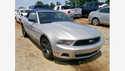 2010 Ford Mustang Convertible for sale 101305104