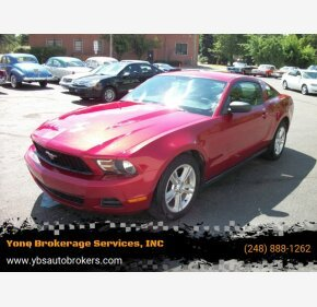 2010 Ford Mustang for sale 101348401