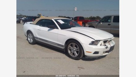 2010 Ford Mustang Convertible for sale 101412549