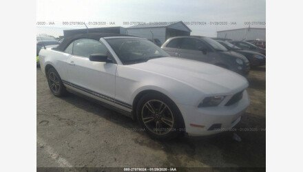 2010 Ford Mustang Convertible for sale 101464632