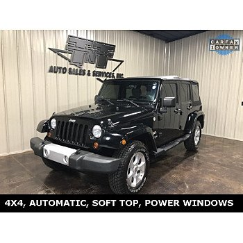 2010 Jeep Wrangler 4WD Unlimited Sahara for sale 101210179