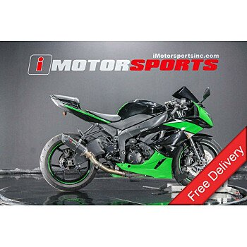 2010 Kawasaki Ninja ZX-6R for sale 200754676