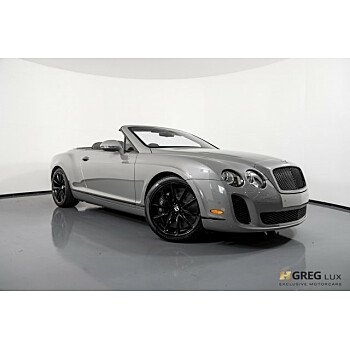 2011 Bentley Continental Supersports Convertible for sale 101168578