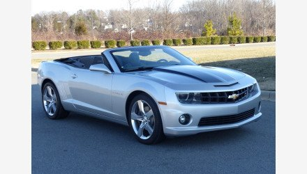 2011 Chevrolet Camaro SS Convertible for sale 101033696