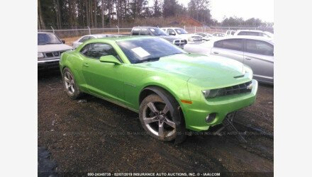 2011 Chevrolet Camaro SS Coupe for sale 101105671