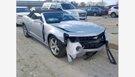 2011 Chevrolet Camaro LT Convertible for sale 101109729