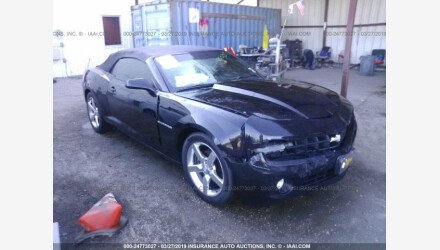 2011 Chevrolet Camaro LT Convertible for sale 101124296