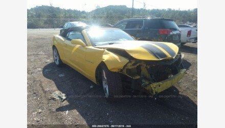 2011 Chevrolet Camaro LT Convertible for sale 101234863