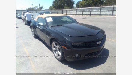 2011 Chevrolet Camaro LT Convertible for sale 101436303