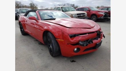 2011 Chevrolet Camaro LT Convertible for sale 101442081