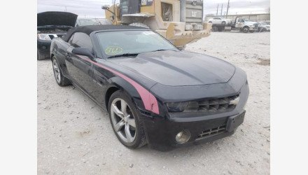 2011 Chevrolet Camaro LT Convertible for sale 101443362