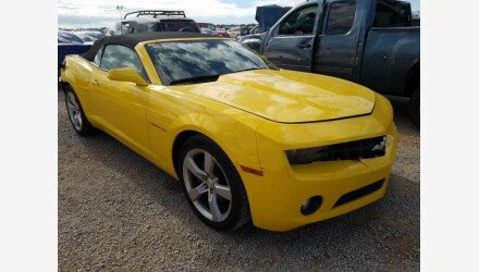 2011 Chevrolet Camaro LT Convertible for sale 101467971