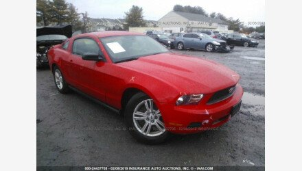 2011 Ford Mustang Coupe for sale 101110482