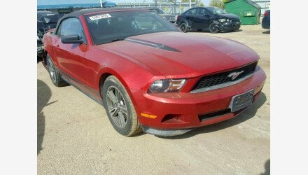 2011 Ford Mustang Convertible for sale 101234573
