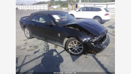 2011 Ford Mustang Convertible for sale 101239023