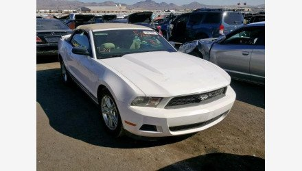 2011 Ford Mustang Convertible for sale 101267714