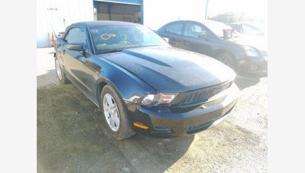 2011 Ford Mustang Convertible for sale 101283459