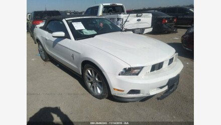 2011 Ford Mustang Convertible for sale 101283581