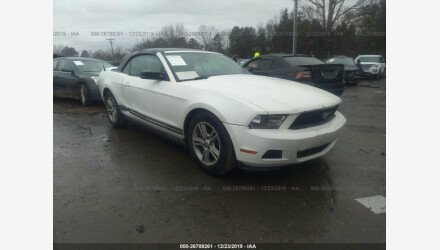 2011 Ford Mustang Convertible for sale 101298575