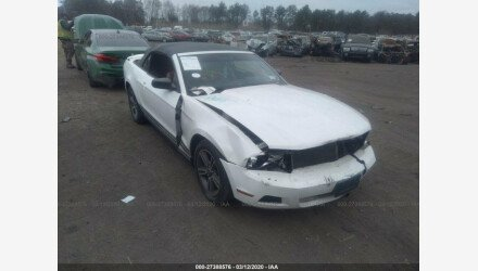 2011 Ford Mustang Convertible for sale 101308818