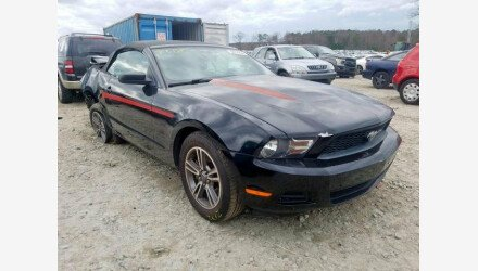 2011 Ford Mustang Convertible for sale 101326799