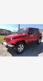 2011 Jeep Wrangler 4WD Unlimited Sahara for sale 100850814