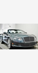 2012 Bentley Continental GT Convertible for sale 101112398