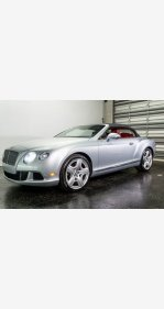 2012 Bentley Continental GT Convertible for sale 101279014