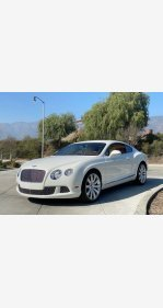 2012 Bentley Continental GT Coupe for sale 101281253