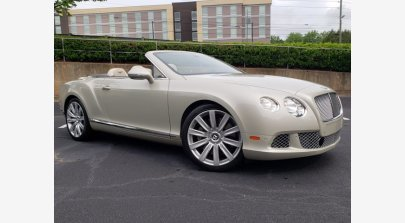 2012 Bentley Continental for sale 101501121
