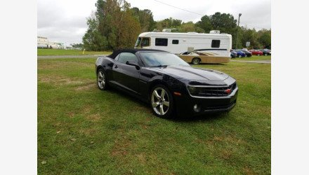 2012 Chevrolet Camaro LT Convertible for sale 101412988