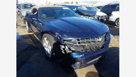 2012 Chevrolet Camaro LT Convertible for sale 101459970