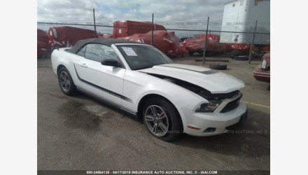 2012 Ford Mustang Convertible for sale 101128330