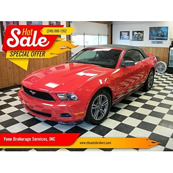 2012 Ford Mustang Convertible for sale 101159878