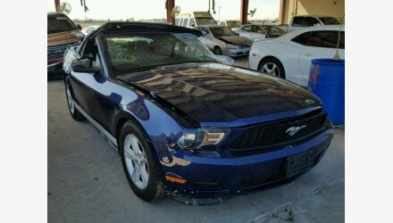 2012 Ford Mustang Convertible for sale 101225004