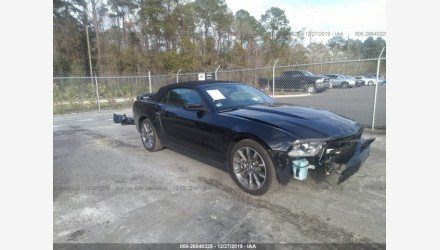 2012 Ford Mustang GT Convertible for sale 101270132