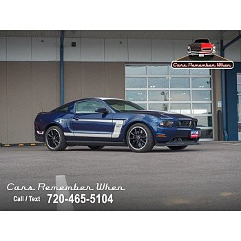 2012 Ford Mustang Boss 302 Coupe for sale 101317203