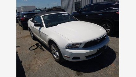 2012 Ford Mustang Convertible for sale 101342605