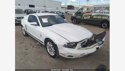 2012 Ford Mustang Coupe for sale 101409015