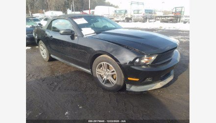 2012 Ford Mustang Convertible for sale 101442280
