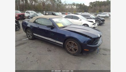 2012 Ford Mustang Convertible for sale 101464586