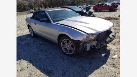 2012 Ford Mustang Convertible for sale 101468064