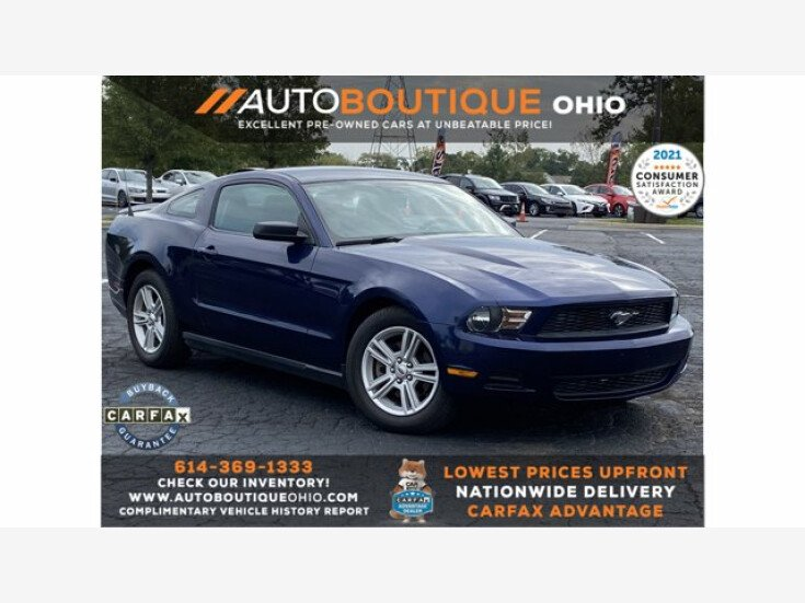 2012 Ford Mustang Coupe for sale 101594578
