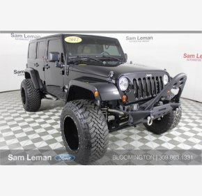 2012 Jeep Wrangler 4WD Unlimited Sahara for sale 101047275