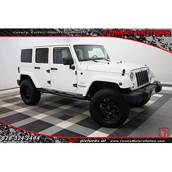 2012 Jeep Wrangler 4WD Unlimited Sahara for sale 101218934