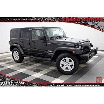 2012 Jeep Wrangler 4WD Unlimited Sahara for sale 101219248