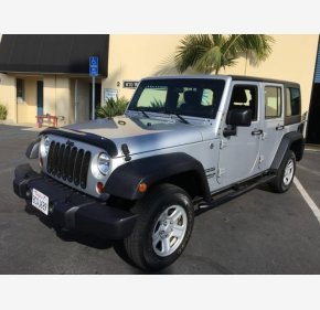 2012 Jeep Wrangler 4WD Unlimited Sport for sale 101234478
