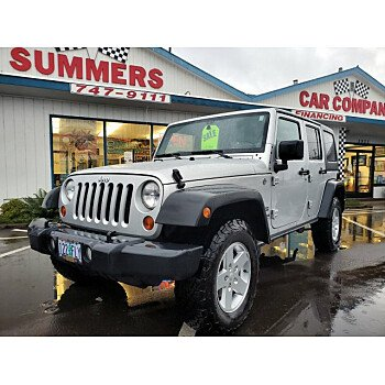 2012 Jeep Wrangler 4WD Unlimited Sport for sale 101256502