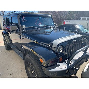 2012 Jeep Wrangler 4WD Unlimited Sahara for sale 101270037